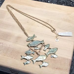 NWT Karma Bella Fish Necklace